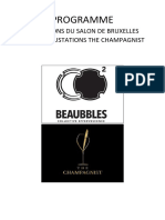 tasting notes Salon du Champagne 2018 (french)