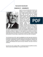Biografia Konstantín Stanislavski