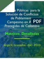 Matriz Recomendaciones Política Pública Uot 28-06-2019