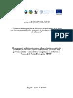 Uso y Ocupación Campesina en áreas protegidas de Colombia . 06-2019