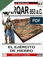 Ejercitos y Batallas 003 QARQAR 853 AC Osprey Del Prado