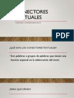CONECTORES TEXTUALES (presentacion)
