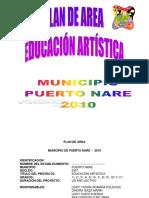 Plan de Area de Artistica - Municipio de Puerto