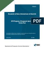 Informe BID 2019