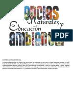 PLAN DE AREA CIENCIAS NATURALES