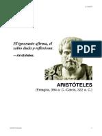 Apuntes Aristoteles - historia de la filosofia