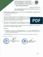 DIRECTIVA SOBRE EL USO, MANTENIMIENTO Y CONSERVACIÓN DE INFRAESTRUCTURA DE AULAS