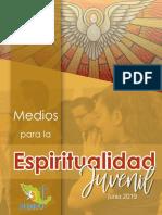 Subsidio Medios Espiritualidad Juvenil Junio 2019