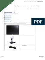 Manual monitor Dell U 2410