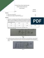 104 Btech VI Sem 6ME1A Design of Machine Elements II