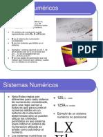 Sistemas Numéricos ejercicios en PPT