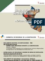 SEGURIDAD DURANTE LA CONSTRUCCIÓN - G 050.ppt