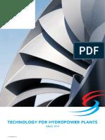 Tecnología para plantas hidroeléctricas