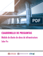 Cuadernillo de preguntas diseño de obras de infraestructura saber pro 2018