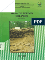 Mapa de suelos del Peru
