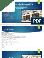Presentacion Proyectos de Inversion