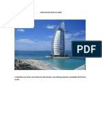 Hotel Burj Al Arab - Pintoresco