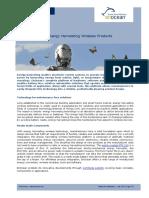 White Paper EnOcean Product Integration