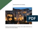 Majestuoso Hotel Cueva en Turquia