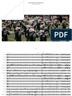 The Cavaliers - Somewhere Over the Rainbow Transcription for Marching Band
