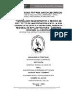 Informe de Practicas Pre-Profesionales Arquitectura (FAUA-UPAO)