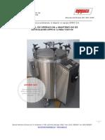 146776219 Manual de Uso y Servicio Autoclaves OPPICI VC0100