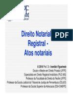Curso Direito Notarial Esjud 2016 Módulo 2 Atos Notariais