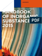 Handbook of Inorganic Substances-De Gruyter (2018)