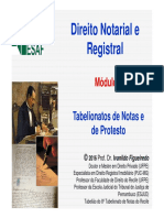 Curso Direito Notarial ESAF 2016 Módulo 3 Atos Notariais