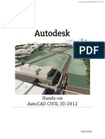 1 - Apostila AutoCAD Civil 3D - 2012