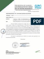 Oficio Múltiple Nº 142- 2019 - Taller de Implemenatacion Del Cneb