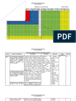 Carta Gantt y Matriz Anual Matemática 6°