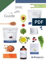 Ketogenic program diet