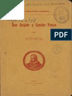 Don Quijote y Sancho Panza en Vitoria