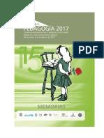 Memorias del Congreso Internacional de Pedagogía, 2017 Cuba