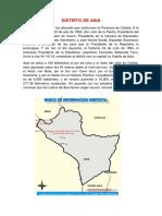 Distrito de Cañete