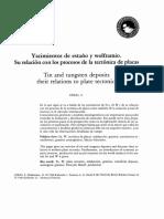 Yacimientos de Sn y W su relacion con procesos tectonicos.pdf