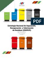 DM Estrategia Nacional Reciclaje 2016 2021