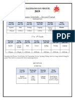 Exam Schedule -II Partial Ready 912 d6f 612 1fa b4a