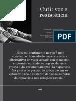 Cuti Voz e Resistencia