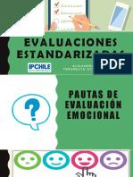 Evaluaciones Emocionales y Social