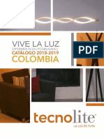 Catalogo de Luminarias Tecnolite 2018-2019