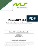 PowerNET M-200 Manual de Instalação e Operação