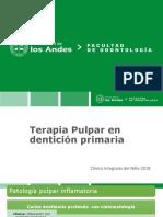 Apunte Terapia Pulpar en Dentición Primaria