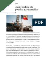 La Amenaza Del Fracking a La OPEP
