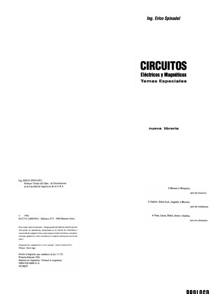 Kupdfcomcircuitos Electricos Y Magneticos Spinadelpdf