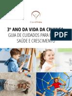 3º ano da vida da criança- Guia de cuidados para melhor saúde e crescimento