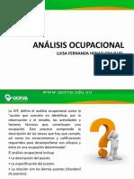 analisis ocupacional de ingeniero industrial