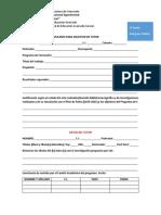 Formularios Tutor y Jurado Proyecto y Tesis DOCTORADO
