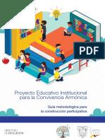 MINEDUC - PEI 2019 - Proyecto Educativo Institucional Convivencia Armonica (Más Documentos En_ Cooperaciondocente.com)